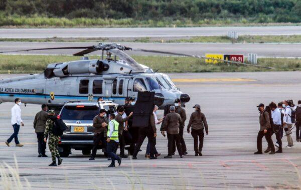 哥倫比亞總統座機遭襲擊 所幸無人傷