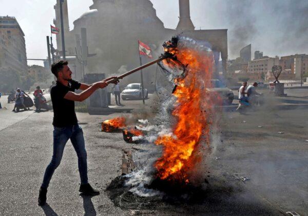 經濟危機陷無政府僵局 黎巴嫩爆警民衝突