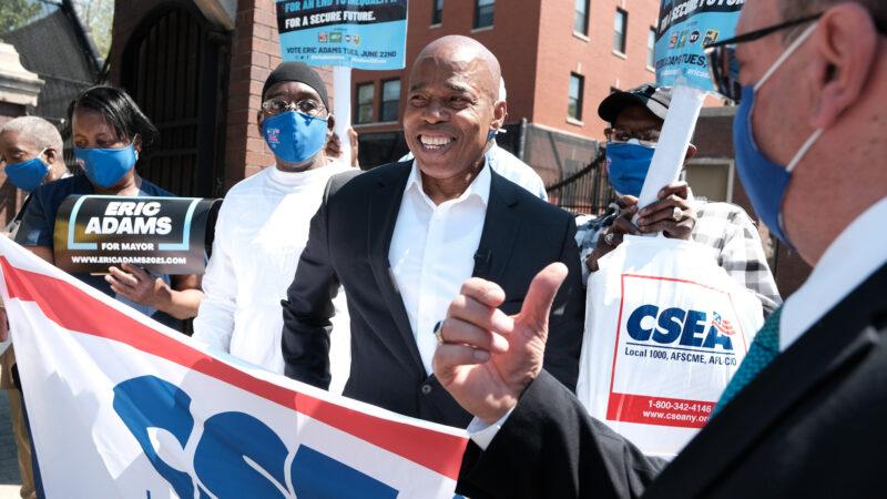 紐約市長初選日前投票冷清 亞當斯民調領先