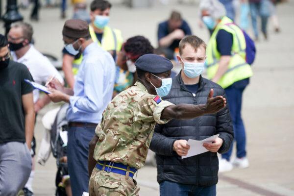 中共病毒變種迅速蔓延 英國或延後解除防疫措施