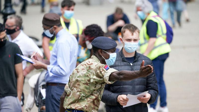 中共病毒变种迅速蔓延 英国或延后解除防疫措施