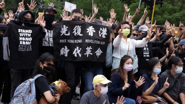 香港反送中兩週年 全球52城市集會紀念