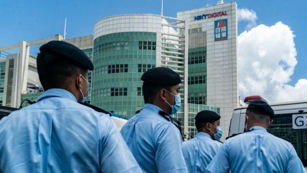 港府持續打壓 《蘋果日報》主筆被捕