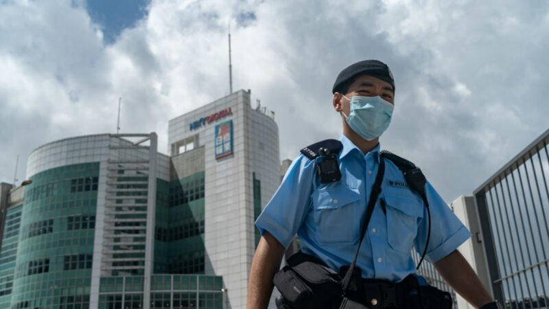 港警抓捕壹传媒及苹果高管 美、英政府强烈谴责