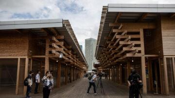史上最獨特奧運村 體現日式簡約設計美學