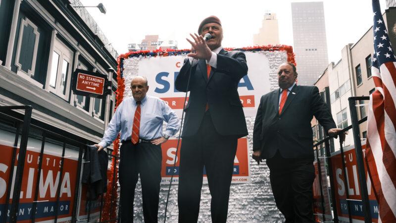 朱利安尼背書斯利瓦 欲扭轉紐約市混亂局面