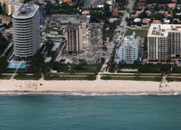 邁阿密海景第一排公寓 如爆破般崩坍99人恐活埋