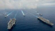 美航母太平洋換防 美將領: 共軍拿不下台灣