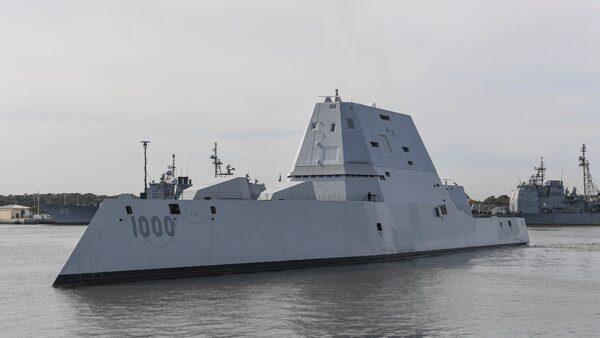 美3戰艦將裝高超音速飛彈 應對台海戰爭