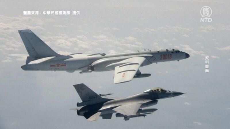 28架中共軍機擾台 美國航母疑赴南海操演