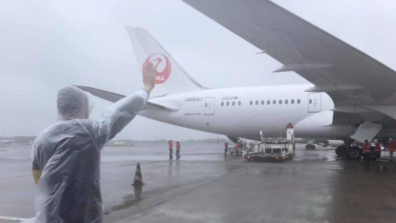 中共公使阻日本疫苗专机飞台湾 日防相紧盯.美机现踪