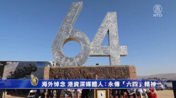 """海外悼念 港资深媒体人:永传""""六四""""精神"""