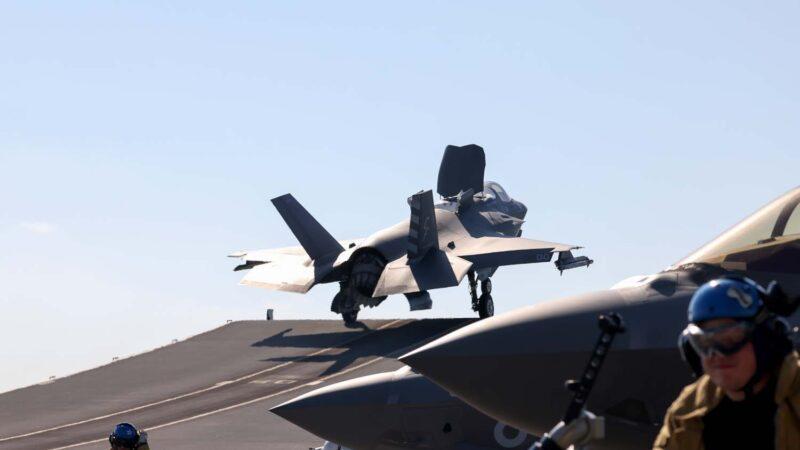 沈舟:英美F-35B首次從航母實戰出擊