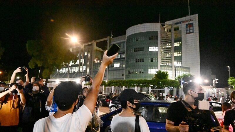 陳光誠:香港淪陷 港人灑淚搶別《蘋果日報》 自由世界應作何反思?