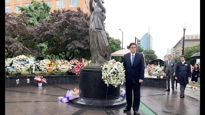 【重播】人權組織悼共產主義受難者頒自由勳章獎