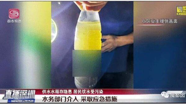 深圳小区粪水倒灌居民连喝两月 房价15万/平米