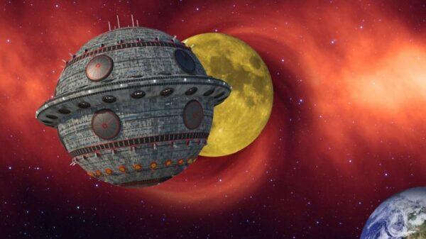 古籍記載的外星旅行 乘UFO游天河見到牛郎織女