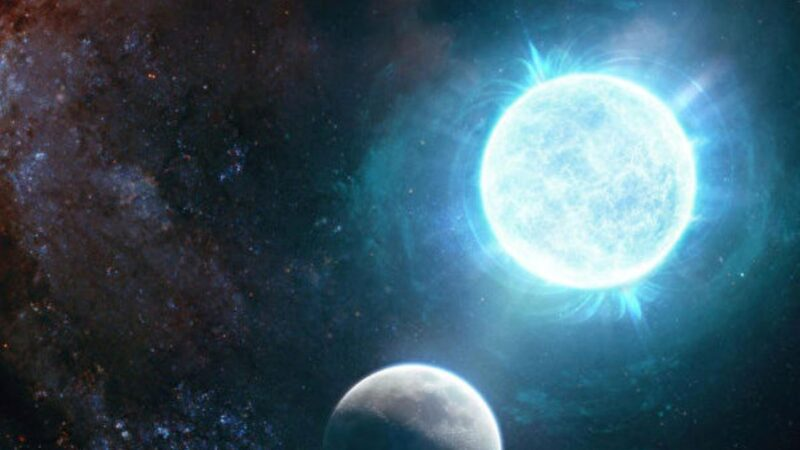 新發現奇異小白矮星 小如月球比太陽還重