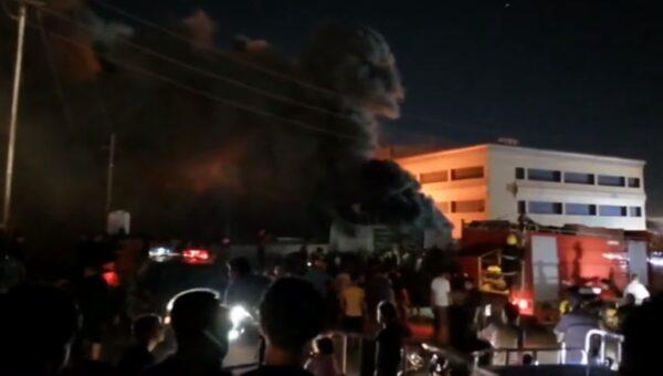 3个月来第2起 伊拉克医院大火逾50死数十人伤