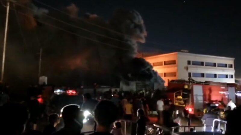 3個月來第2起 伊拉克醫院大火逾50死數十人傷