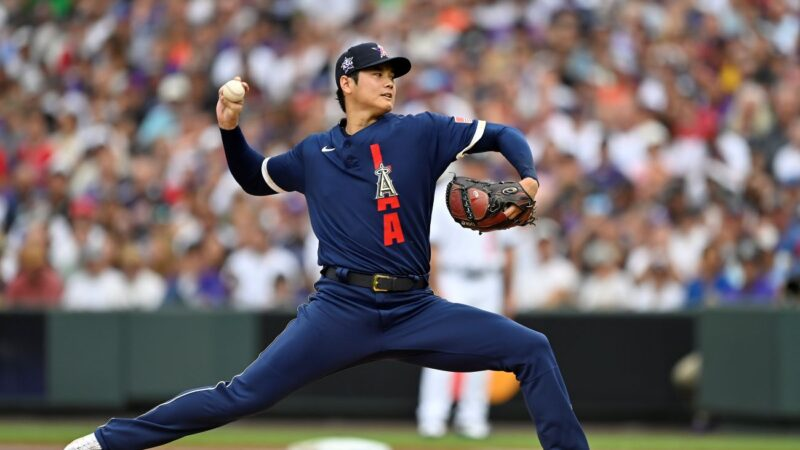 MLB明星赛大谷翔平夺胜投 美联8连胜国联