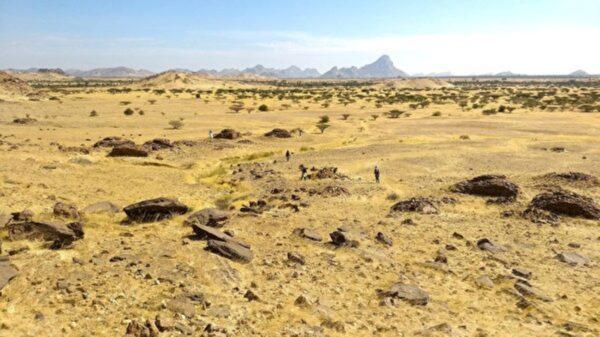 研究:苏丹古墓布局类似星系内天体分布