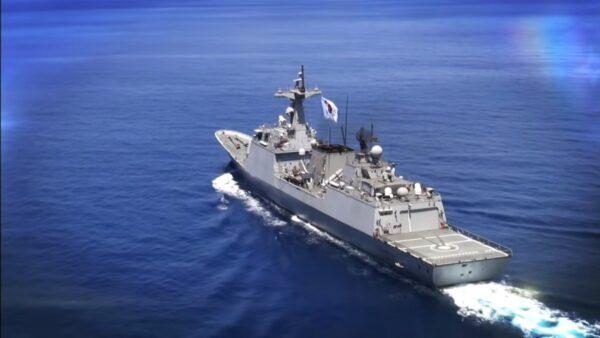 韩国反海盗军舰爆群聚感染 逾8成人员确诊