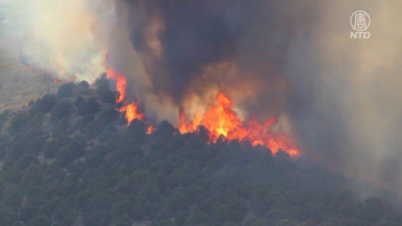 加州天堂鎮迪克西山火延燒 僅控制15%