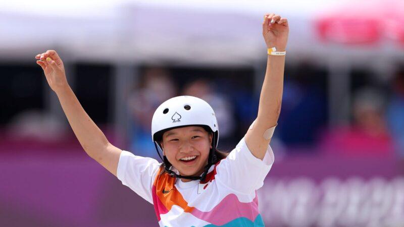 东奥女滑板街霸出炉 金牌得主年仅13岁