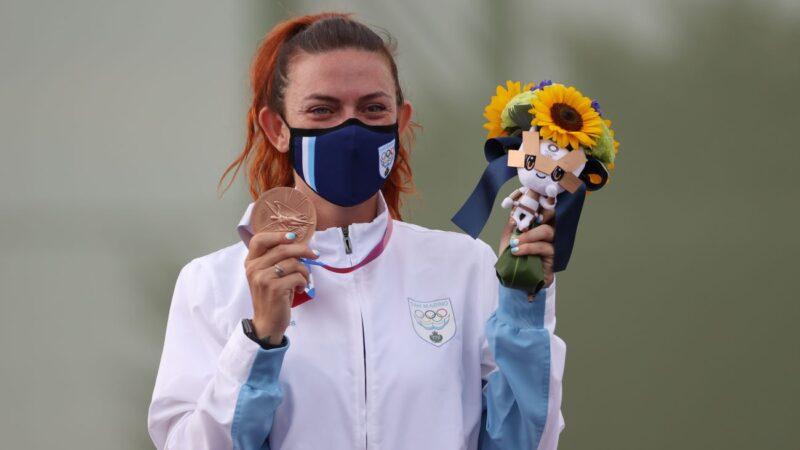 创奥运最小国得奖纪录  圣马力诺首获奖牌