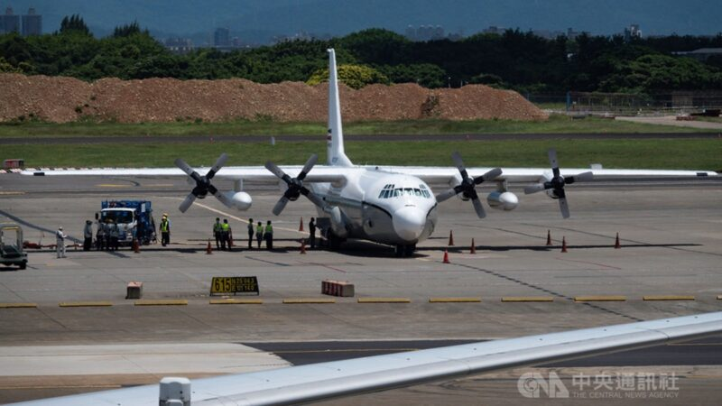 又一架美國飛機降落台灣 5天內第二次