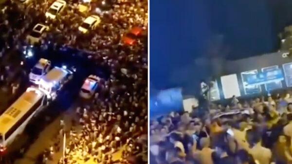 重庆恒大千名业主走上街头 警察到场被逼退