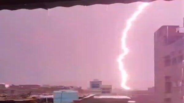 雷击频传 印度两省24小时内至少38死