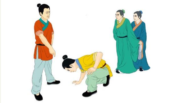 少年韩信忍辱负重 大忍之心传千载