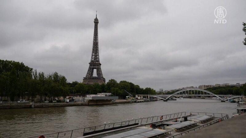 巴黎艾菲尔铁塔重新开放 游客欢欣