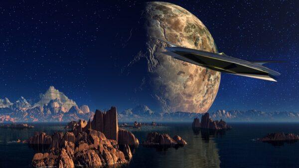 外星旅行!乘UFO游天河 见牛郎和织女