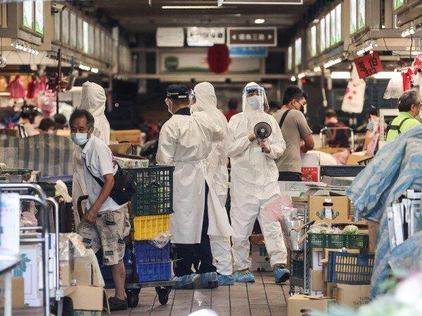 北市環南市場41人確診 29人病毒傳染力偏高