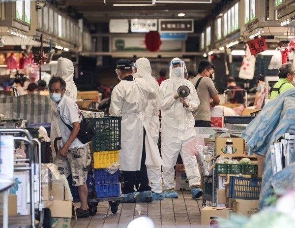 北市环南市场41人确诊 29人病毒传染力偏高