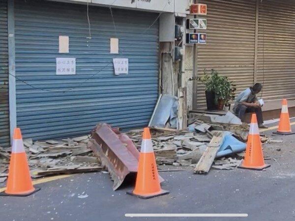 花蓮2小時內連22起地震 最大震度5.2深度5.9公里