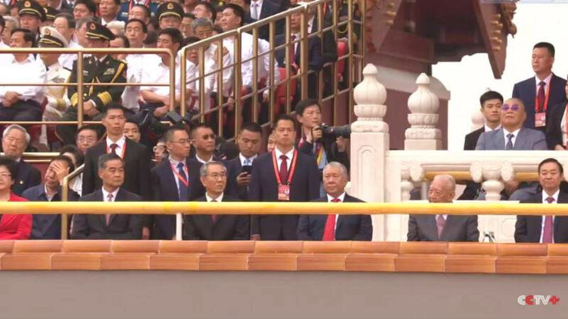 中共黨慶無視疫情 7萬人不戴口罩齊聚天安門