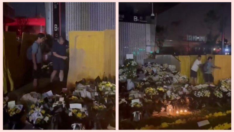 民眾拆鄭州地鐵口圍板:不要擋著死者回家的路