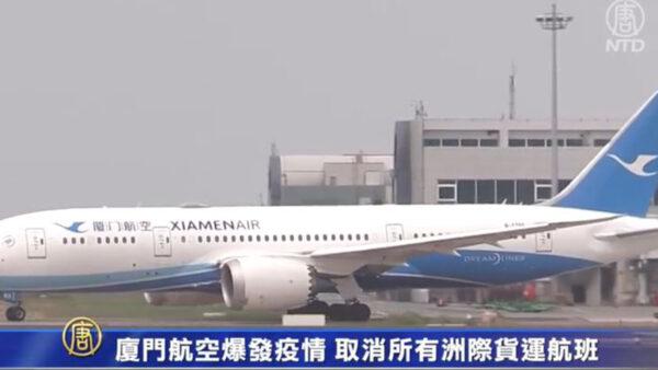 """厦门航空""""国际货运飞行员""""确诊 多次航班被取消"""