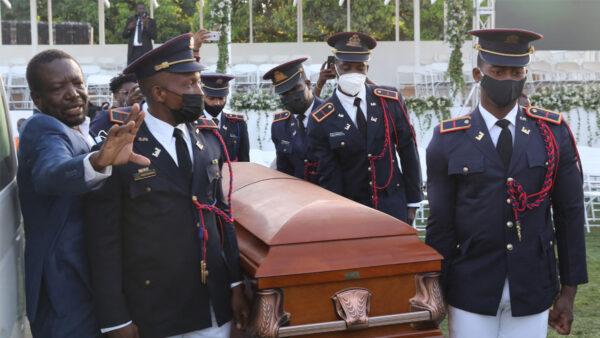 海地总统葬礼传枪声 国际代表团匆忙撤离