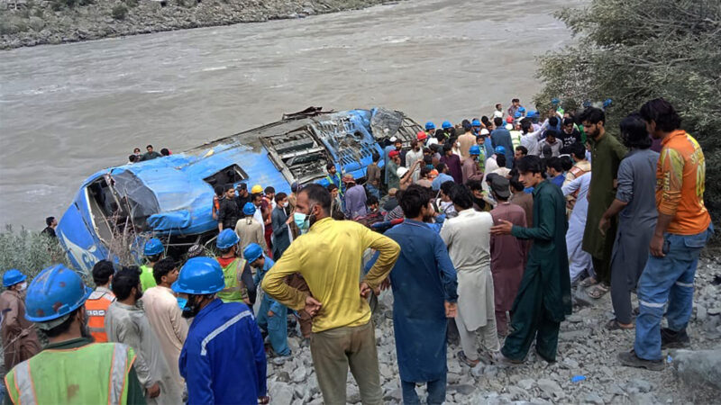 恐袭可能性大 中共介入巴基斯坦公交车爆炸案调查
