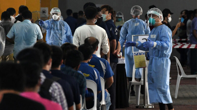 接种中国疫苗不算数 新加坡官方数据不予计算
