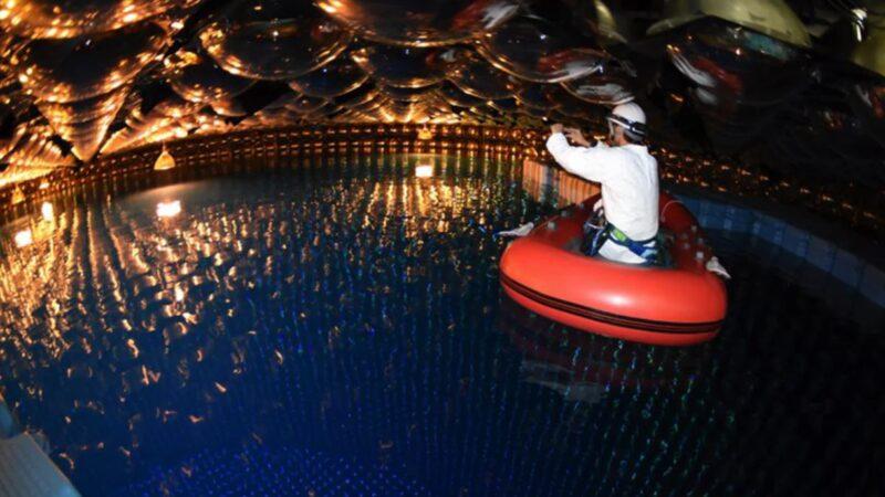 5萬噸純凈水 讓你看見微觀粒子的威力