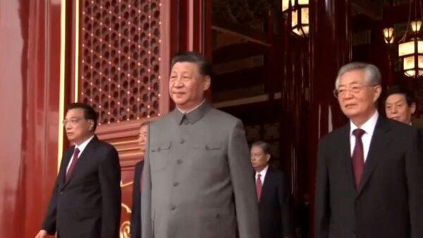 中共党庆掌声怪异 江朱缺席 胡温现身