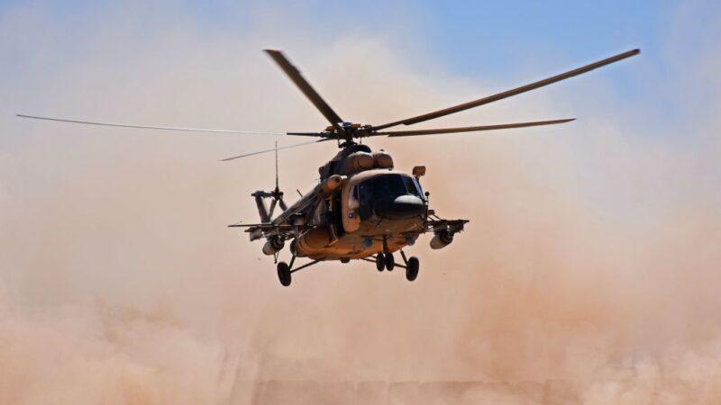伊拉克直升機被地面砲火擊落 5軍人死亡(視頻)