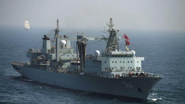 中共撤軍演後再發禁航令 專家:避開日本副相講話
