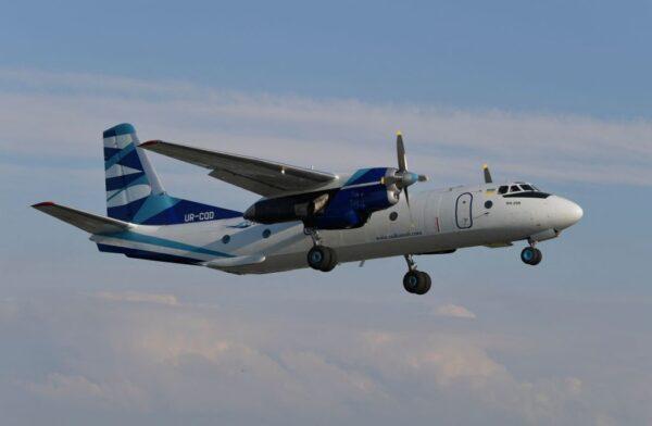 俄罗斯飞机远东地区失联 疑坠海机上载28人